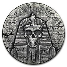 2017 2 oz 999 Fine Silver Coin - Egyptian Relic Series - Ramesses Afterlife