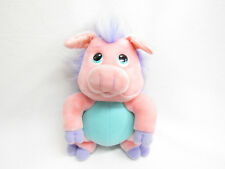 VINTAGE HASBRO SOFTIES WUZZLES PINK PIG/PORCUPINE PLUSH WINGS