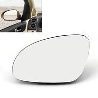 L Rearview Mirror Glass Heated W/Holder For VW Golf GTI Jetta MK5 Passat B6 AU5