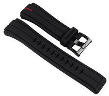 Timex Ersatzband Schwarz 16mm T2N720 T2N721 T2N739 T2P141 T2N722 T2N723 T49709