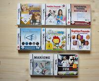 NDS - 8 Spiele für Nintendo DS in OVP (Set 12)