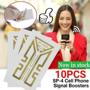 10Pcs Cell Phone Signal Enhancement Stickers-Signal Booster   Kit.