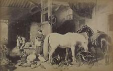 PAIR Rural Scenes with Horses Photographic Prints c1940/60s Aft JF Herring Snr