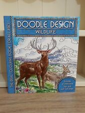 Doodle Design Colouring Book - Wildlife  - NEW