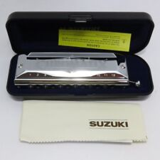 SUZUKI SCX-48 CHROMATIC HARMONICA STANDARD MODEL 12 HOLE DELUXE  New