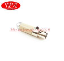 JPA JA201 Adapter Convert Sennheiser 3.5mm plug to AKG TA3F Wireless Bodypack