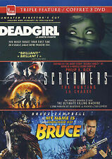 Deadgirl/Screamers: The Hunting/My Name Is Bruce (DVD 2011 3-Disc) Free Ship!