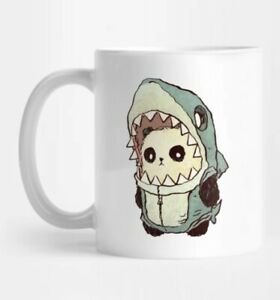 Panda Shark Mug 11oz Coffee Mug