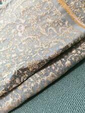 Silk linen fabric jacquard Armani casa-Rubelli Zeccinitta-Fiordaliso Lampas