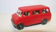 Bedford Bus Kleinbus rot Wiking 355 H0 Kunststoff 1:87 ohne Box