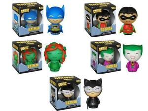 DORBZ Batman Series One Batman Robin Poison Ivy Joker Catwomen Action Figures