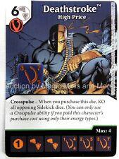 Green Arrow Flash DEATHSTROKE High Price #52 DC Dice Masters card