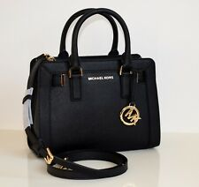MICHAEL KORS Damen Tasche DILLON schwarz TZ SM SATCHEL 35T7GAIS1L