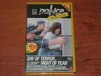 Police Story: Day Of Terror, Night Of Fear VHS 1980s TV Columbia Home Video PAL