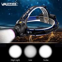 Rechargeable 10000Lm  T6 LED Head Light Lamp Headlamp Headlight 18650 Battery