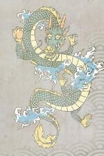 Eastward 150: Water Dragon Print Notebook : 150 Page Notebook Journal Diary...