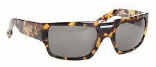 Spy Optic Hauser Sunglasses Blonde Tortoise Handmade Frame Grey Lens NEW RARE