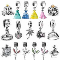 New Brand Charms Fit sterling European 925 Silver Bead Bracelets Chain Necklace