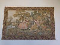 N1291 tapisserie murale style XVIIIème Renaissance fait main art déco PN France