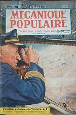 REVUE MECANIQUE POPULAIRE N° 047 AVIATION DIAMANT SUCRERIE ERABLE BOMBES 1950