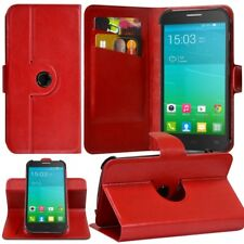 Etui Fonction Support 360° Universel S Rouge pour Alcatel One Touch Idol Mini