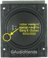 Repairkit rubber surrounds for Bang & Olufsen Beolab 6000 / 3500  THE RIGHT ONE!