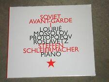 Steffen Schleiermacher Soviet Avant-Garde 1 (CD, Hatnow) Lourie Mossolov sealed