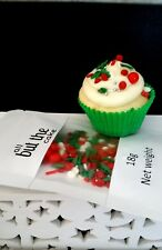 CHRISTMAS MEDLEY MIX RED GREEN WHITE SPRINKLES XMAS CUPCAKE CAKE DECORATION