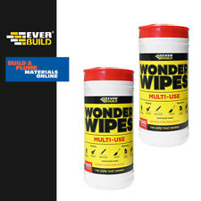 Everbuild Multi Purpose Wonder Wipes - Hand Wipes Cleaners - Wonderwipes - Spray