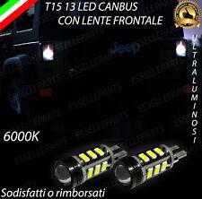 LAMPADE RETROMARCIA 13 LED T15 W16W CANBUS JEEP WRANGLER III NO ERROR