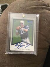 Peyton Manning Rookie Card A1