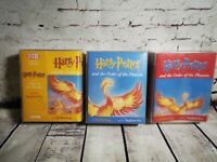 Harry Potter & The Order Of The Phoenix 22 Cassettes Audio Read By Stephen Fry