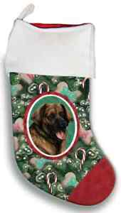 Leonberger Christmas Stocking