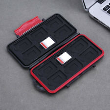 12Pcs SD Card Case Cover Box Waterproof Shockproof Hard Storage Protector Memory