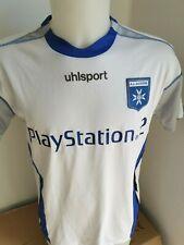 superbe maillot de football  AUXERRE N °18  MATHIS taille L  UHLSPORT  porté AJA