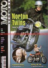 MOTO LEGENDE 131 LAVERDA 500 NORTON 99 HARLEY DAVIDSON XR YAMAHA RDLC MOTOBECANE