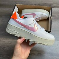 WOMENS NIKE AIR FORCE 1 AF1 SAGE LOW WHITE TRAINERS SHOES SIZE UK5.5 US8 EUR39