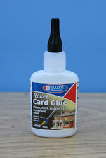 AD57 2 x Deluxe Materials Roket Instant Card Glue 50ml -Metcalfe Kits New Bottle