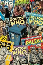 Poster DOCTOR WHO - Comic Cover Montage  ca60x90cm NEU 58195