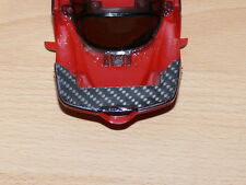 Carbon carrocería refuerzos para Ferrari Enzo mini-z. fabricado CNC