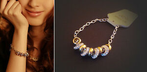 Beautiful set Necklace and Bracelet - Crystal Elements