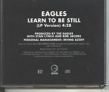 eagles - learn to be still   promo cd