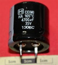 Panasonic HA Snap-in Radial Condensateur électrolytique 4700µF 35 V 105 ° C