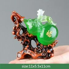 Lucky Feng Shui Gourd Statue Ornaments Resin Sculpture Crafts Home Decoration