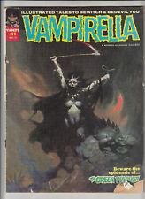 Vampirella #11 (Warren 1971) Frank Frazetta cover  G/VG