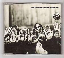 (HB169) Audioweb, Bankrobber - 1996 CD