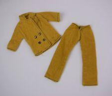 Vintage Pedigree Sindy Trouser Suit 12S19 Mustard Corduroy Jacket Trousers 1960s