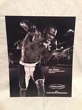 JON BONES JONES SIGNED AUTOGRAPHED 8X10 PHOTO UFC CHAMPION COA B