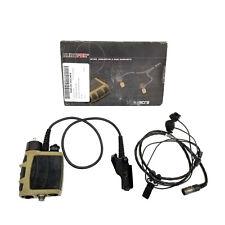 Nacre K-D5001 QuietPro Tactical Headset Microphone Hearing Device