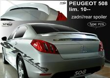 SPOILER REAR BOOT TRUNK PEUGEOT 508 WING ACCESSORIES